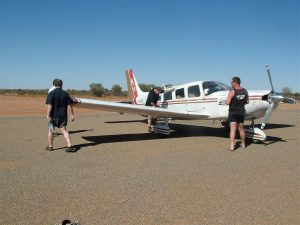 Phone the Tibooburra Hotel in advance if you need avgas.