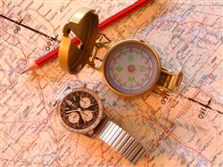 If you want to survive in the bush, clock and compass are king