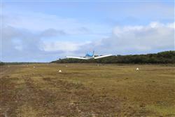 Three Hummock Island airstrip