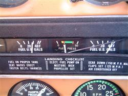 Monitor your fuel gauges, but keep track of time