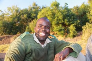 In Africa, it's all about the teeth. One of our happy smiling game guides at Mashatu.