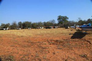 Whole fleet arrives at Chikwenya Safari Park, Zimbabwe