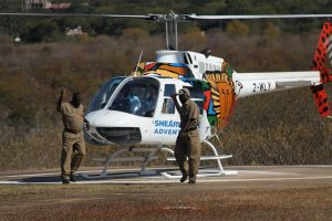 A heli flight over Vic Falls is worth the dollars