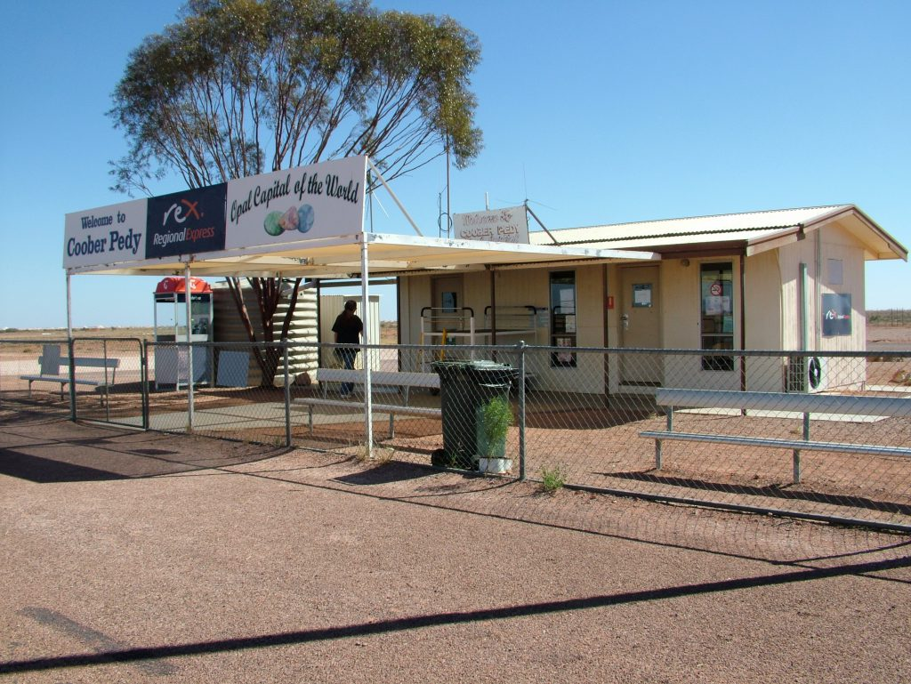 Coober Pedy, SA - one of the more sophisticated outback fuel stops