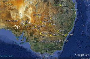 Easter 2012 safari route