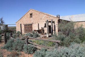 The fabulous old shearing shed on Nilpena Station, owned by Ross & Jane Fargher who run the Prairie Hotel.
