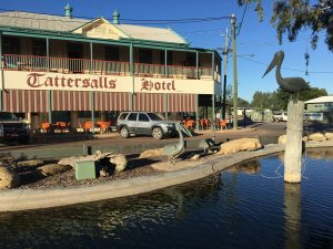 It's OK to have a favourite pub in every outback town. In Winton, mine is Tattersalls.