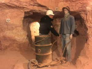Come on down and meet some locals at the Old Timer's Mine! And OK, Neil, you can shake his hand if it makes you feel better.