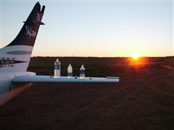 Dawn start at Noccundra, Queensland