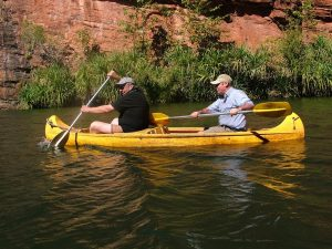 Do NOT leave Adels without a kayak up the gorge, swim and picnic lunch.