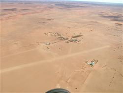 William Creek airstrip before it was sealed.