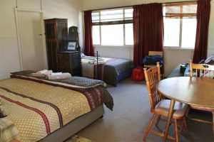 One of the super comfortable rooms in the Jillaroos Cottage.