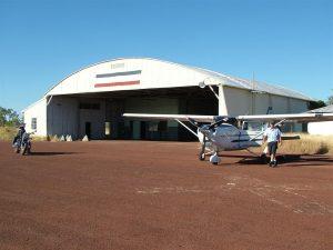 Fabulous old WWII hangar