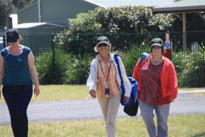 PPL Judy and friend Sarah looking forward to discovering Merimbula and surrounds.