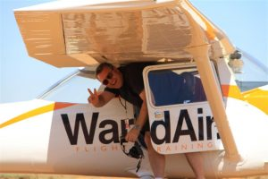 Jono unravels himself from the WardAir C150