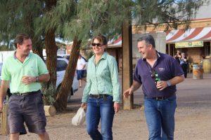 Peter Ross, Salli-Ann Ward & Jono share some down time at Parachilna