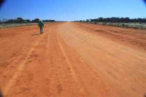 We find the airstrip in great shape.