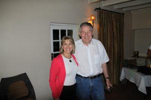With great friend and legendary aviation writer, Jim Davis, at Johannesburg.