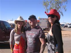 Our girls effortlessly elevating the glamour stakes at Birdsville