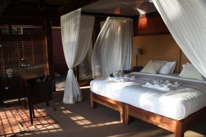 Settling into typical accommodation like our beautiful room at Chikwenya was like heaven after often long and adventure-filled days.