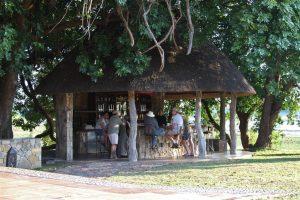 Welcome to Chikwenya on the Zambezi. Al fresco G&Ts ...