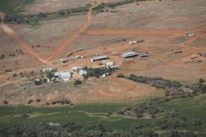 Typical remote station with airstrip