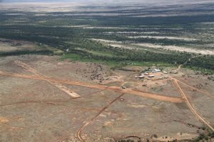 The iconic Marion Downs, 1.2 million ha of backyard cattle country.