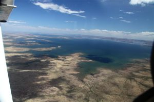 The very welcome sight of Lake Argyle - hurray, we've made it to the Kimberley!!