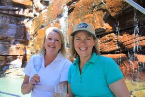 Over a little soda-pop, the girls are plotting how to never leave the Kimberley.