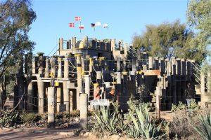 Someone really eccentric's castle ...