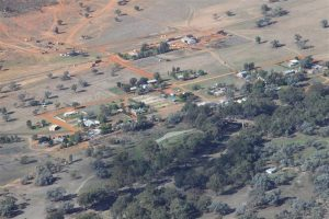 The tiny town of Louth sits snugly on the Darling River in central west NSW