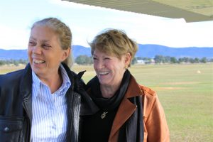 And a lovely reunion at Mudgee. Margie & Neva - not happy enough to see each other!