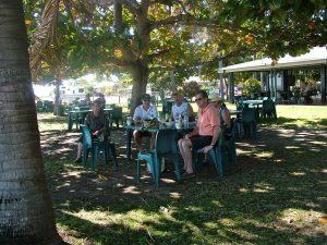 Tavern beer garden
