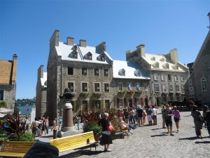 You'll never get sick of the architecture in Quebec City.