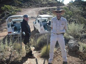 Your Ridge Top Tour guide gives you a stack of wonderful historical information about Arkaroola.