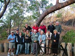 Stawell Aviation safari crew of 2008 had bonded after about ten minutes