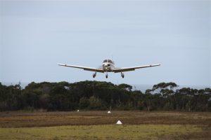 Landing on Three Hummock Island, between King Island and the Tassie mainland