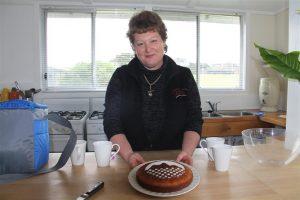 Beverley's welcome cake!