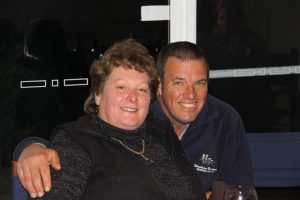 Beverley and John - managers on Three Hummock