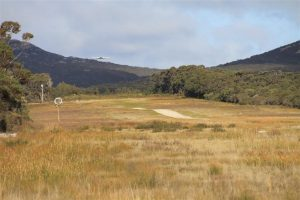 Rock-n-roll. Airstrip at Killiecrankie, on north-west coast of Flinders Island.