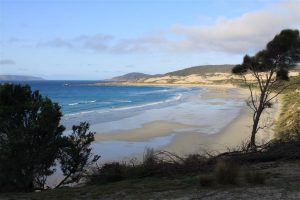 The magnificent Palana Beach, at very north tip of Flinders.