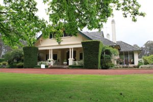 Campaspe House at Woodend in the beautiful Macedon Ranges of Victoria.