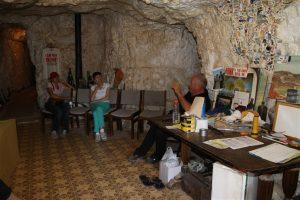 Jock's Place at White Cliffs. Underground, crazy.