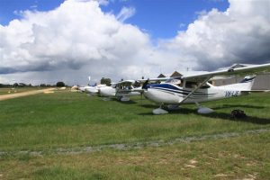 We all landed at the gorgeous Kyneton Airfield in the Macedon Ranges.
