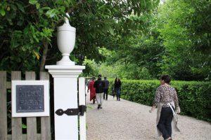First of the Open Gardens we visited - Musk Farm Garden