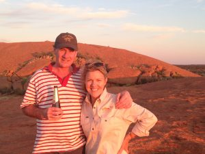 Sundowners in a magic part of our country.