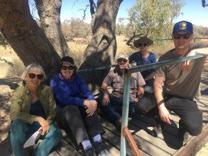 Gang at the Dig Tree, SA.