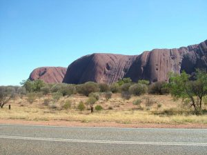 Uluru looks different from any angle.