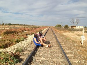 You're going to want to wander out to the Indian Pacific railway track. It's just out the front door.