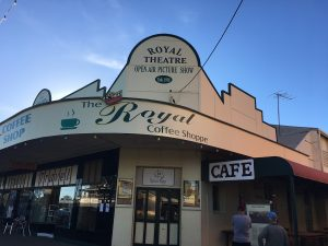Headquarters of the fabulous annual Vision Splendid outback film festival, you've got to visit the Royal Theatre.